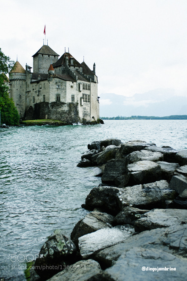 Castillo Chillon by Diego Jambrina (Elhombredemackintosh) on 500px.com