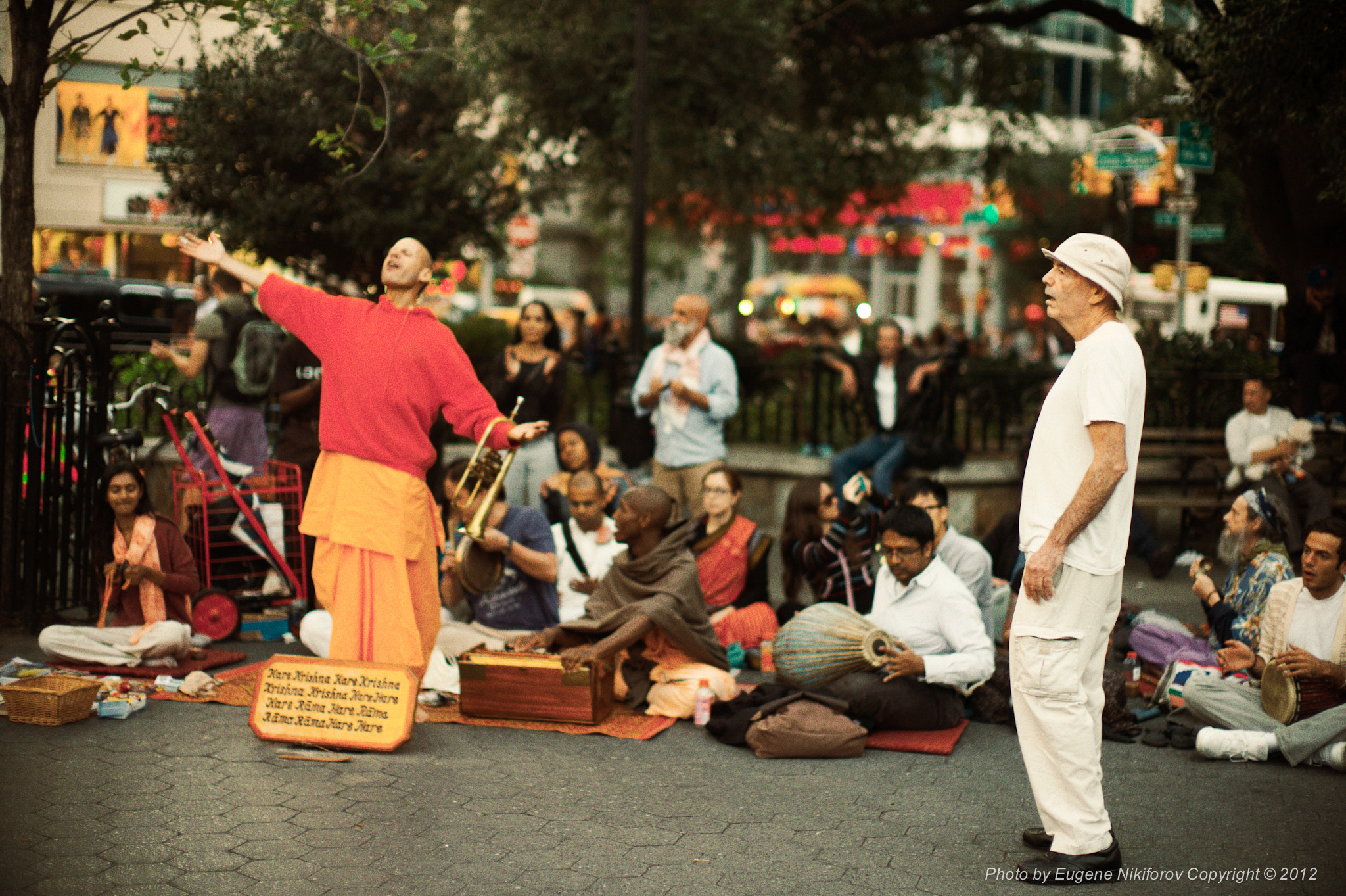 Photograph Hare Krishna, Union Square, Manhattan by Eugene Nikiforov on 500px