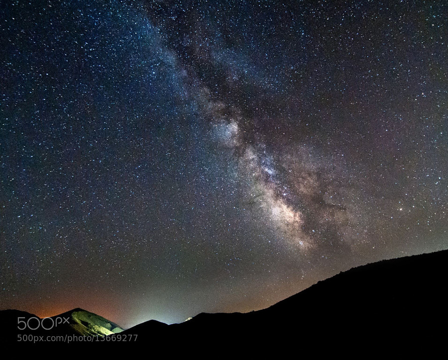 Photograph SoCal Milky Way  by Bill Dickinson on 500px