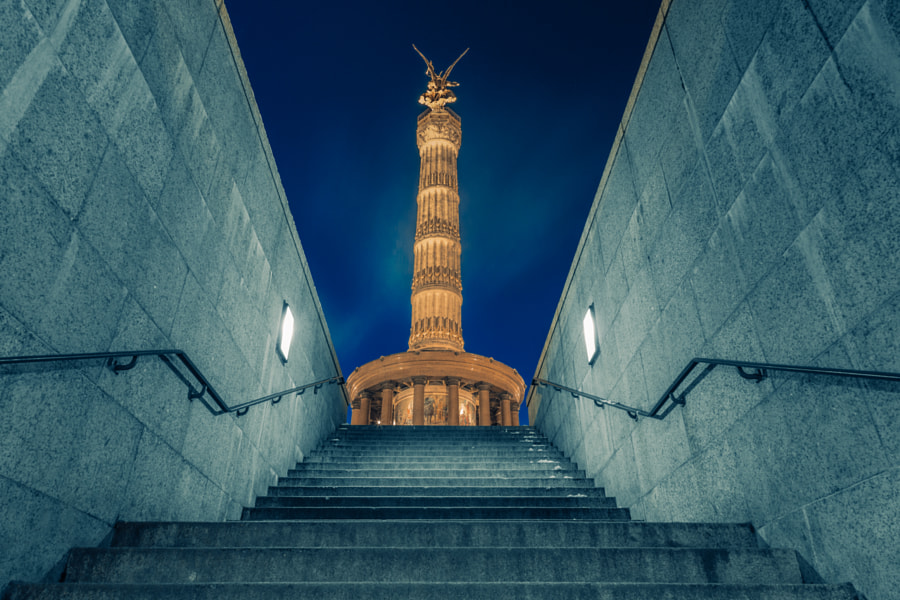 Berlin Victory Column by Gabriel Walther on 500px.com