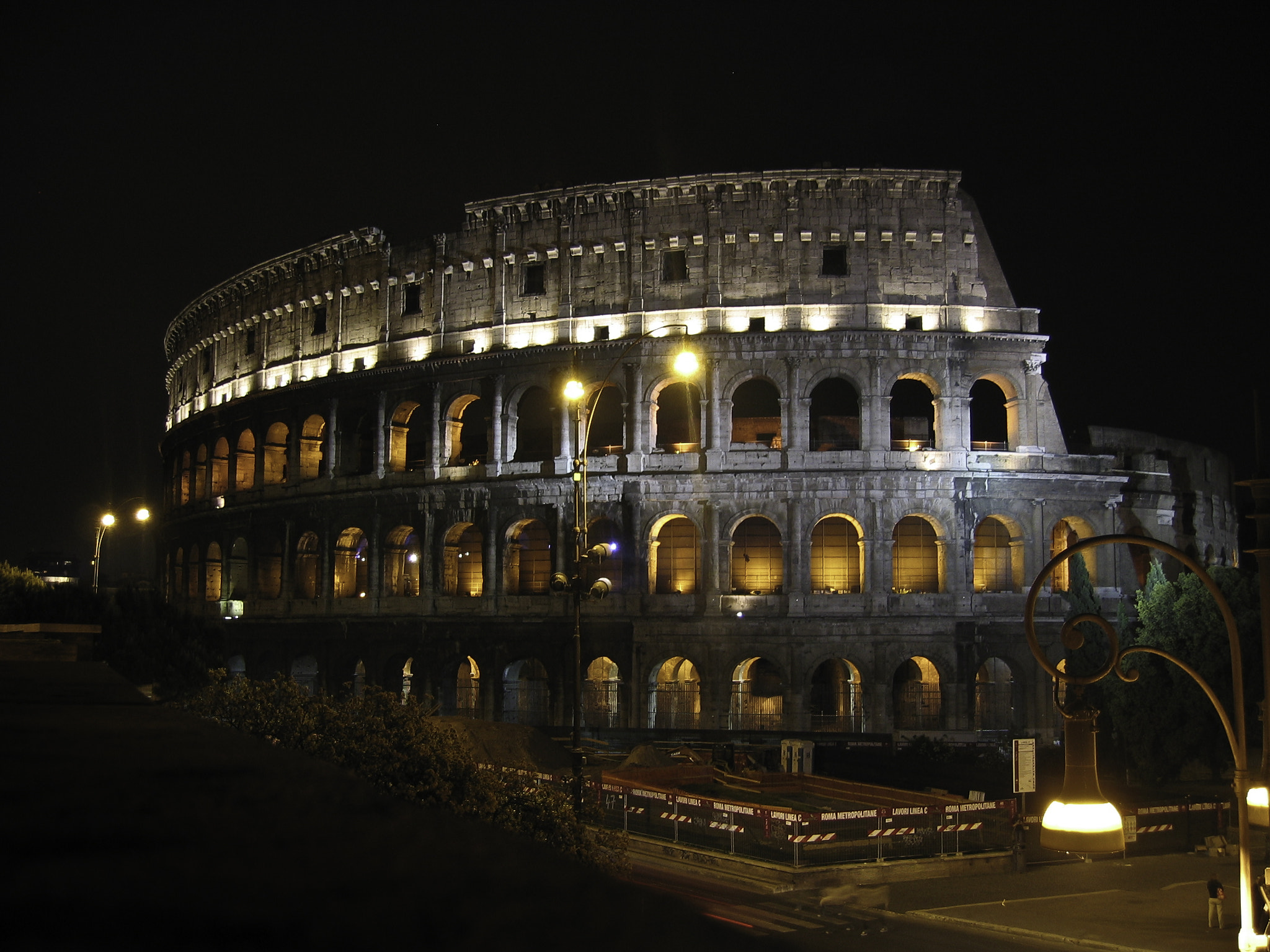 Photograph Colosseum at night by Hans K. on 500px