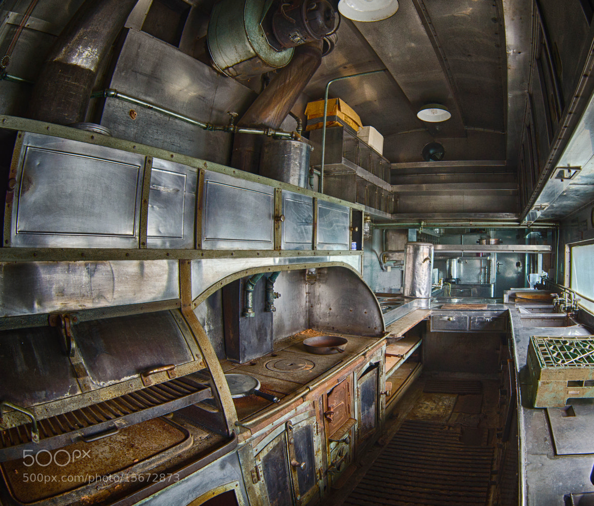 Photograph Railway Kitchen Car by Ronald Roberts on 500px