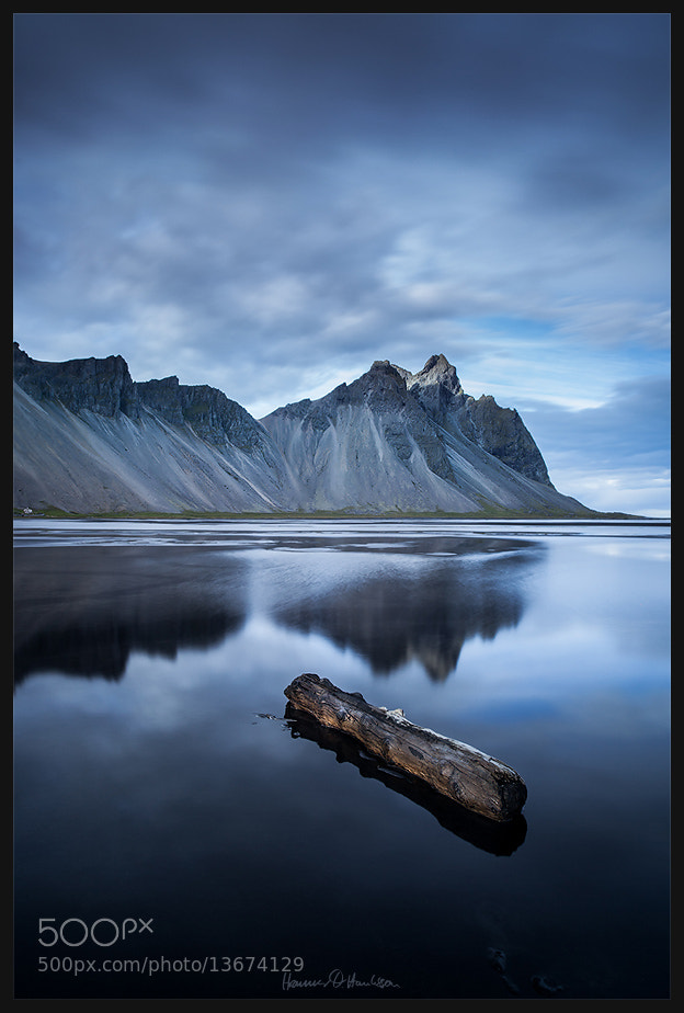 Photograph Hronsvík II - The Log by Hrannar Hauksson on 500px