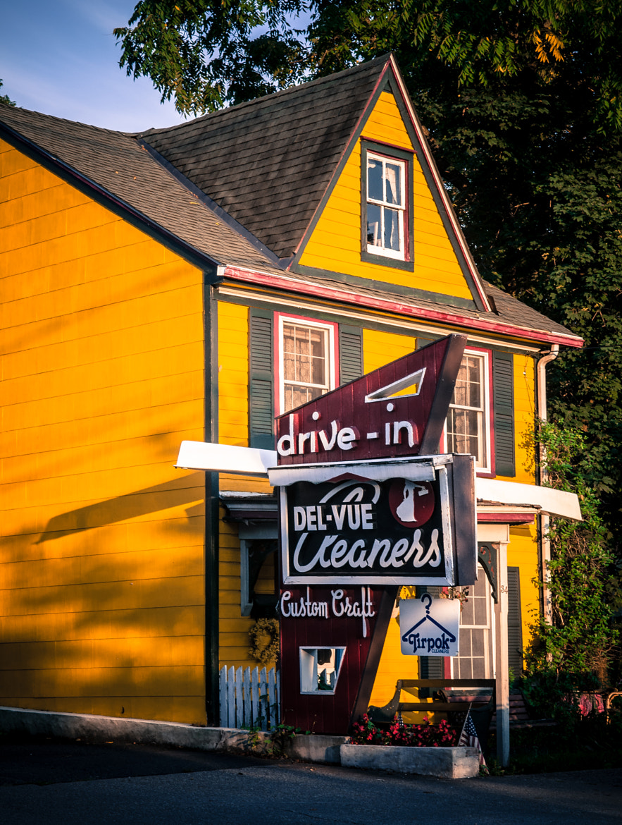 Photograph Drive-In Cleaners by Zach  on 500px