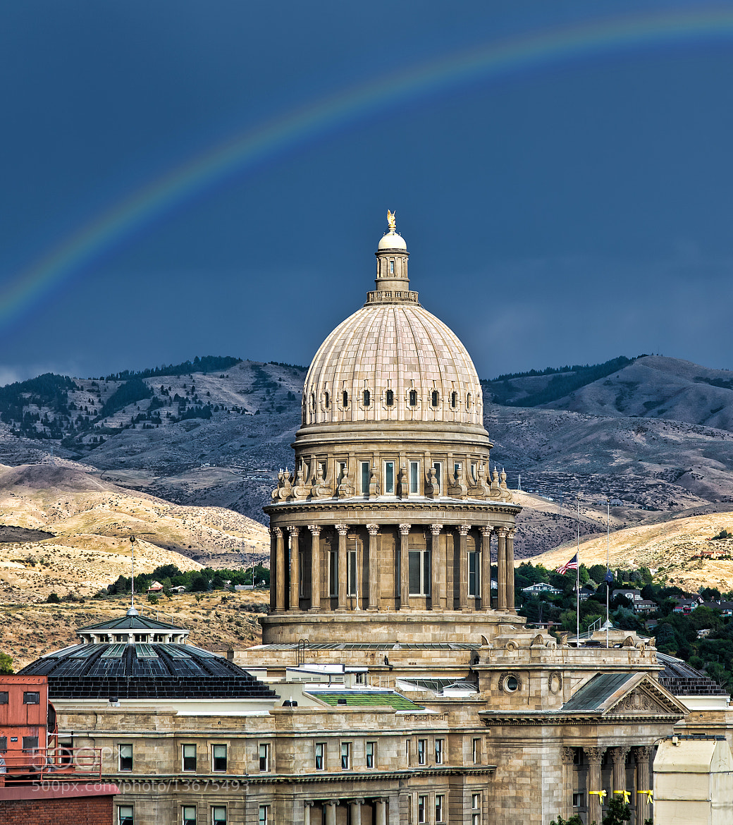 Photograph Idaho Capital Building by Greg Ness on 500px