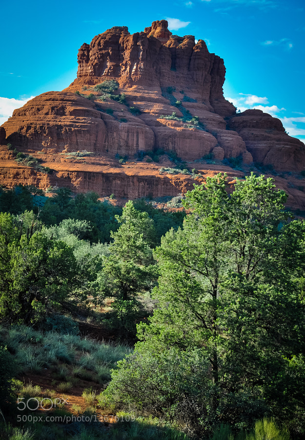 A Sedona pleaser, Castle Rock.