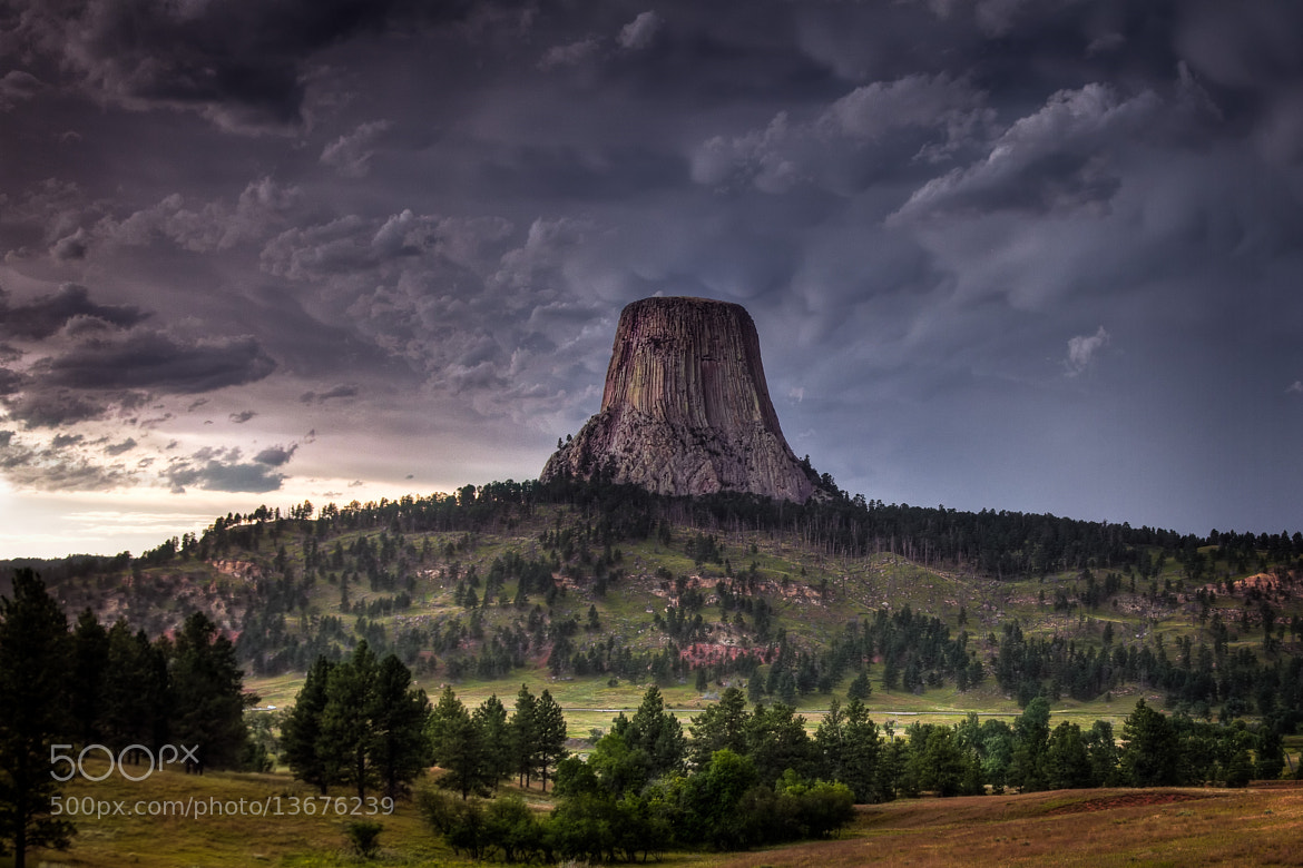 Photograph Devils Tower by Greg Ness on 500px