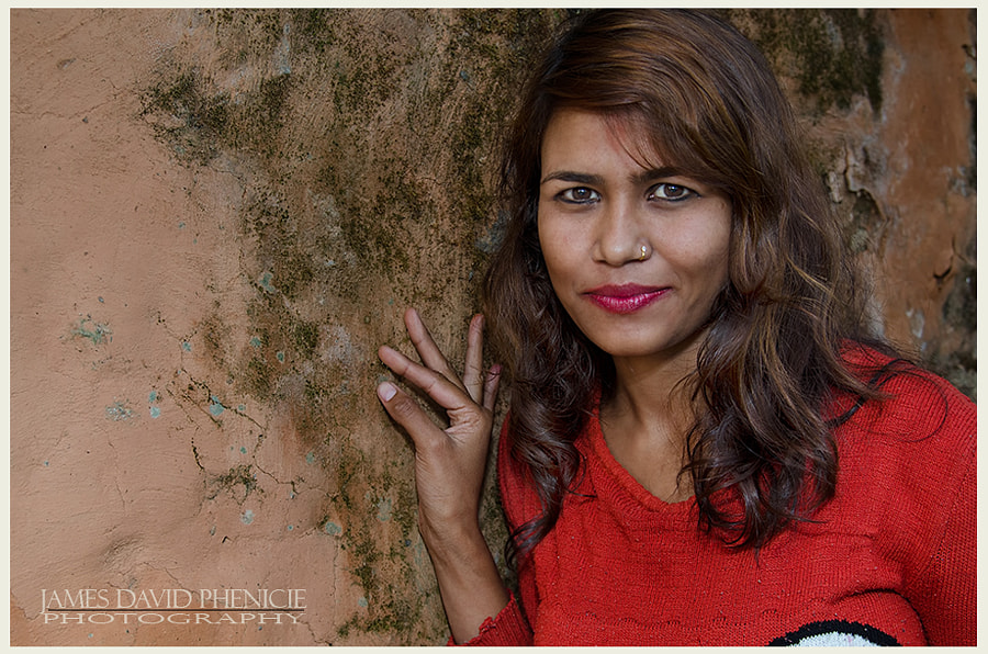 Faces of Nepal:   Village Beauty
