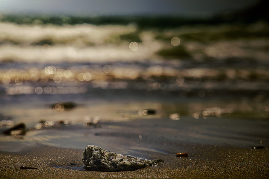 Stone and ocean