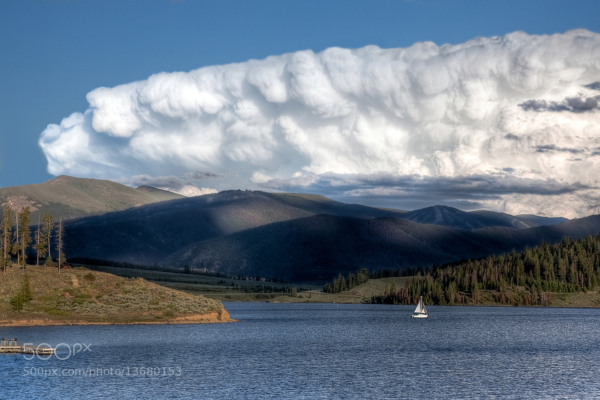 Photograph Gathering storm over Lake Dillon by Greg Ness on 500px