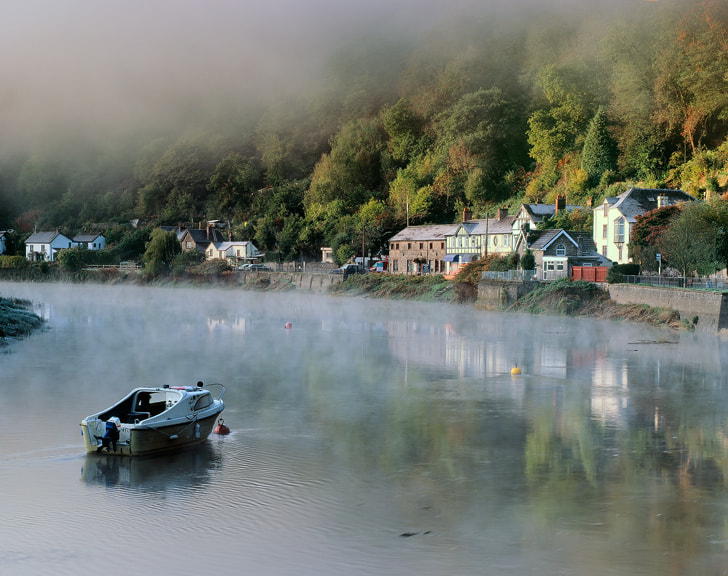 Photograph River Usk, Tintern by Reversed Vision on 500px