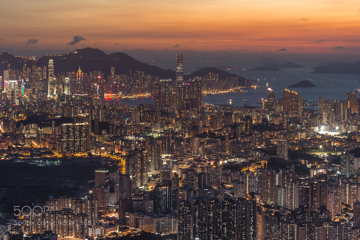 Photograph Edge of Hongkong city by Coolbiere. A. on 500px