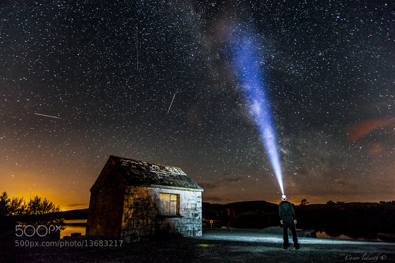 Photograph Perseids over Connemara by conor ledwith on 500px