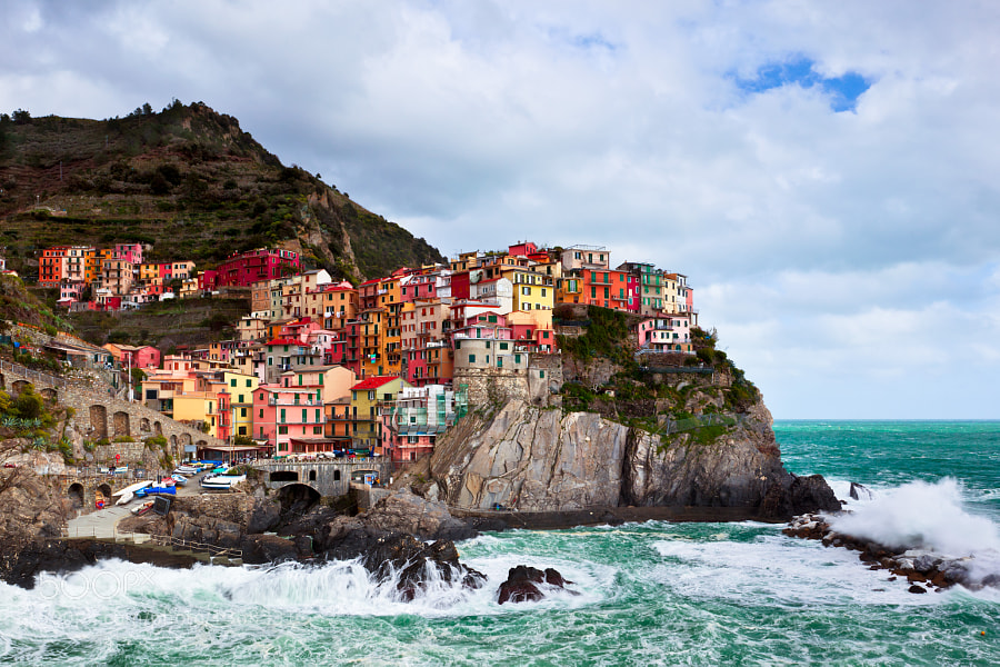 Photograph Manarola, Cinque Terre by jared ropelato on 500px
