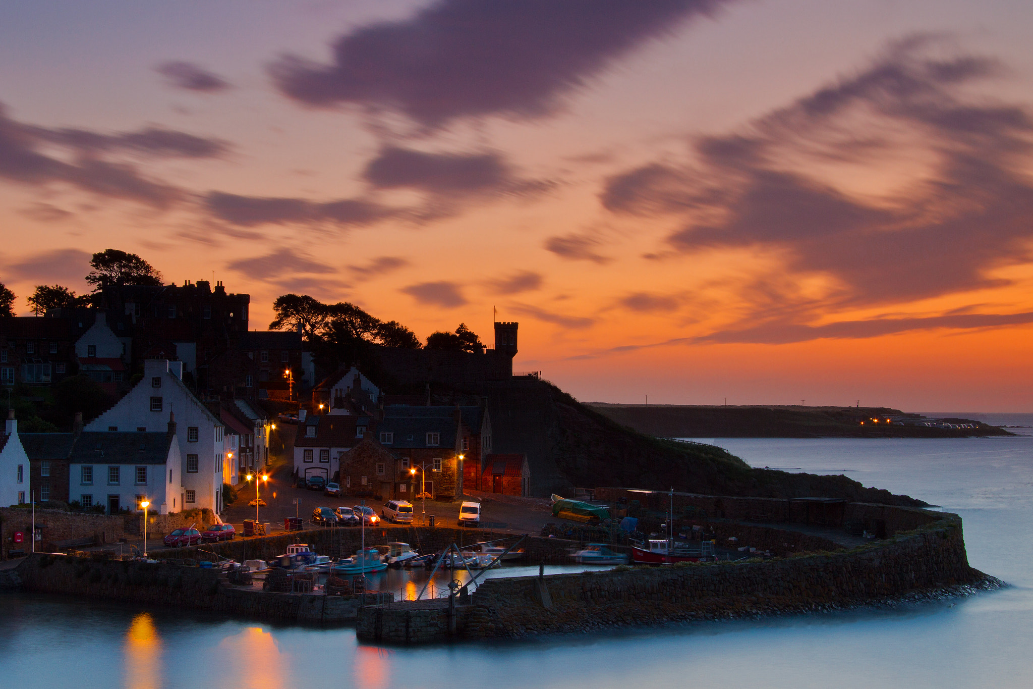 Photograph Harbour Lights by Simon Cameron on 500px