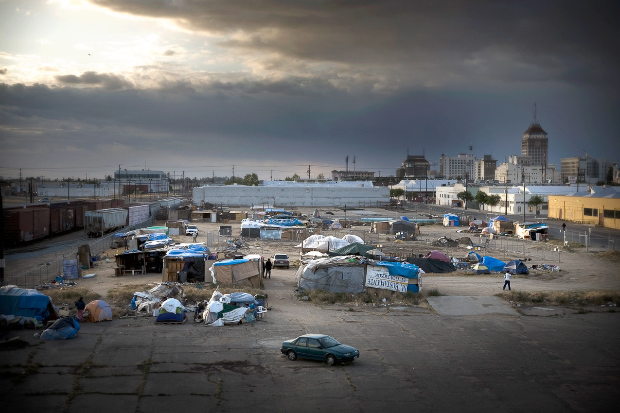 Photograph Tent City by Mathieu Young on 500px
