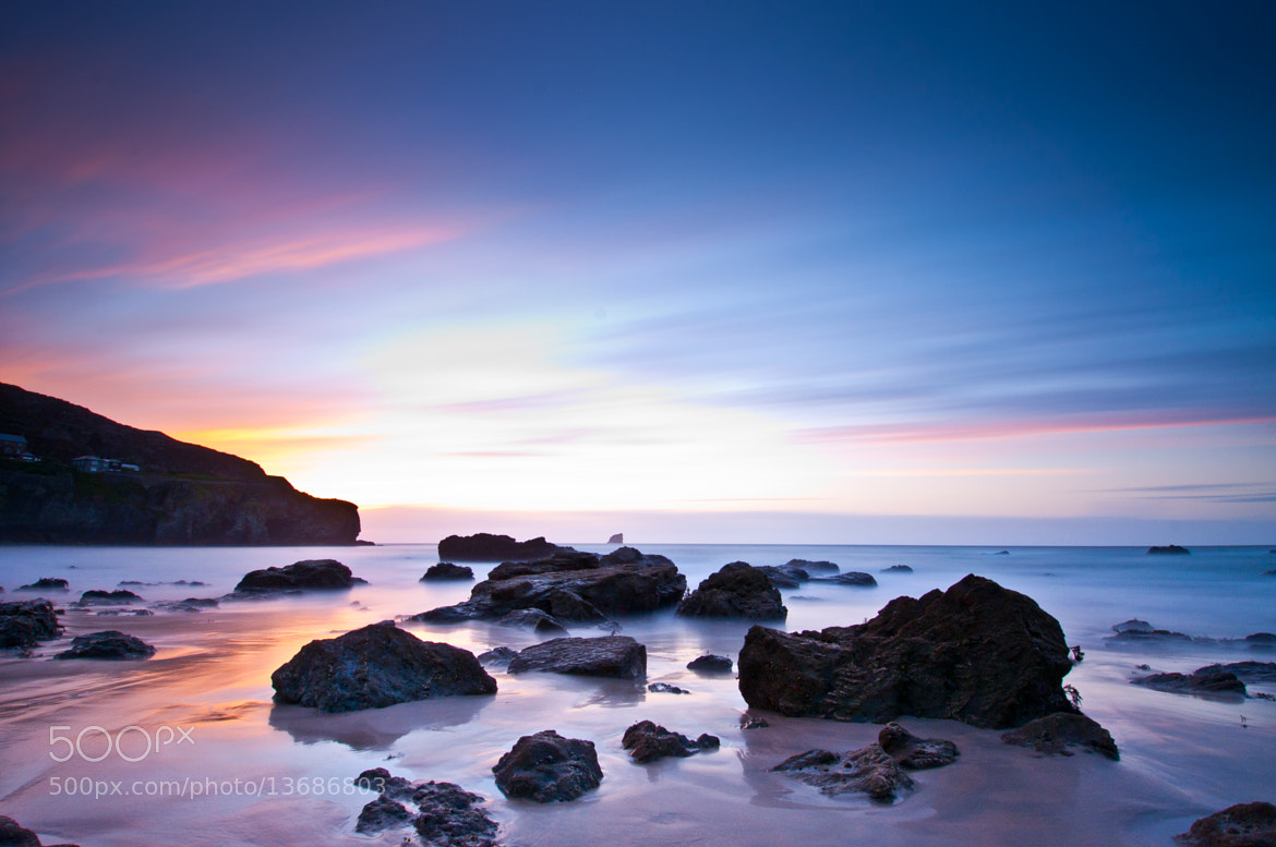 Photograph Cornish Sunset, St Agnes by Neil Bryars on 500px