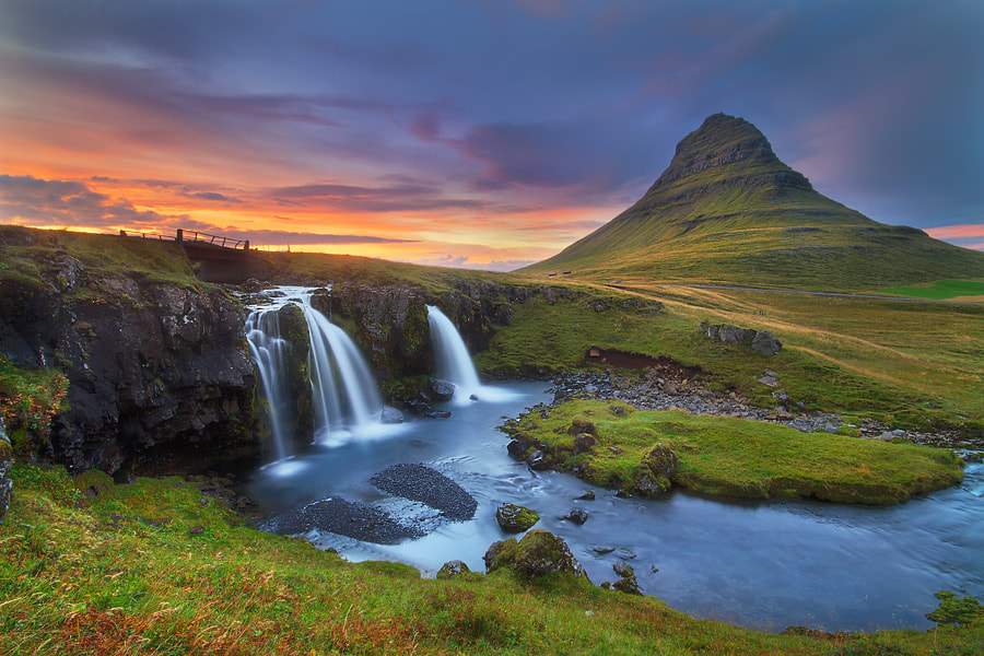 Photograph Kirkjufell evening by Dylan Toh  & Marianne Lim on 500px