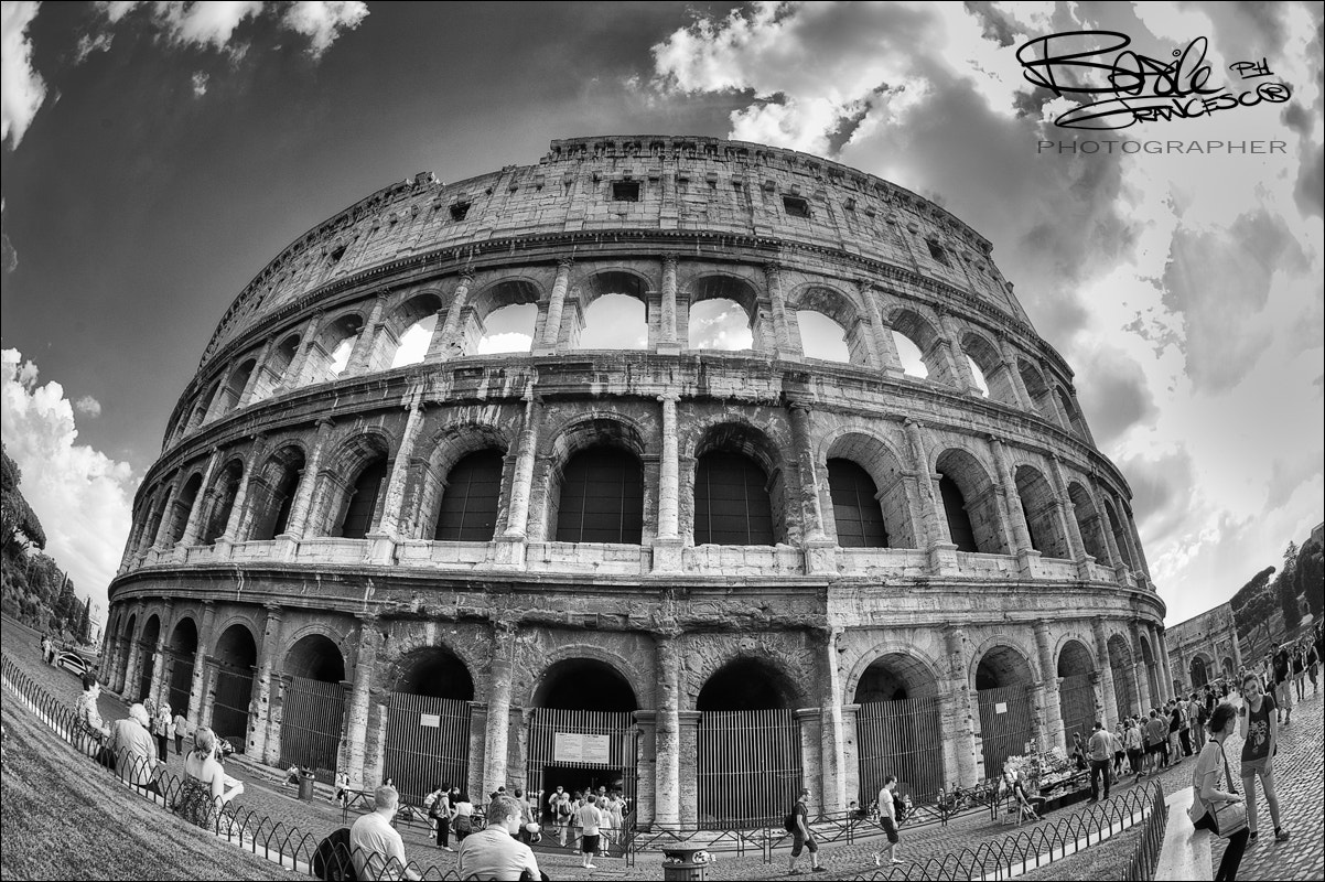 Photograph colosseo fish eye by Basile Francesco on 500px