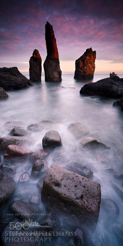 Photograph Fire Rocks - ICELAND by Stefan Hefele on 500px
