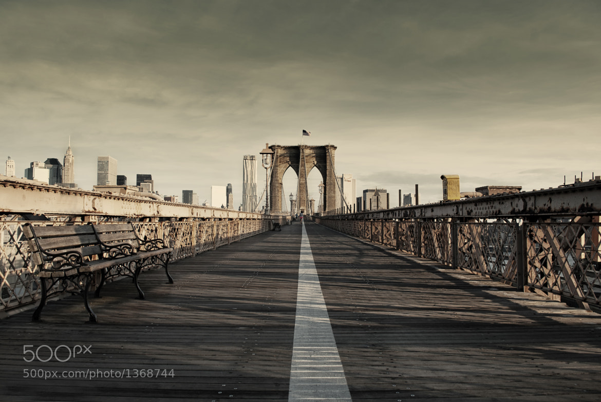 Photograph Brooklyn Bridge, NY by David Walker (19 yrs old) on 500px