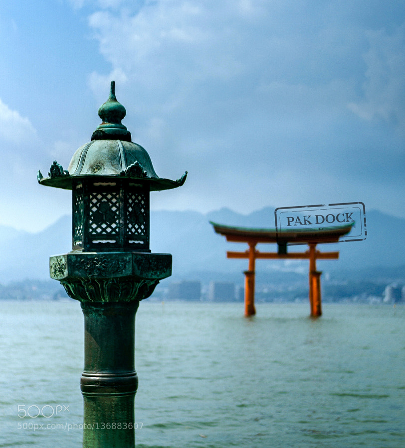 Lantern at Itsukushima