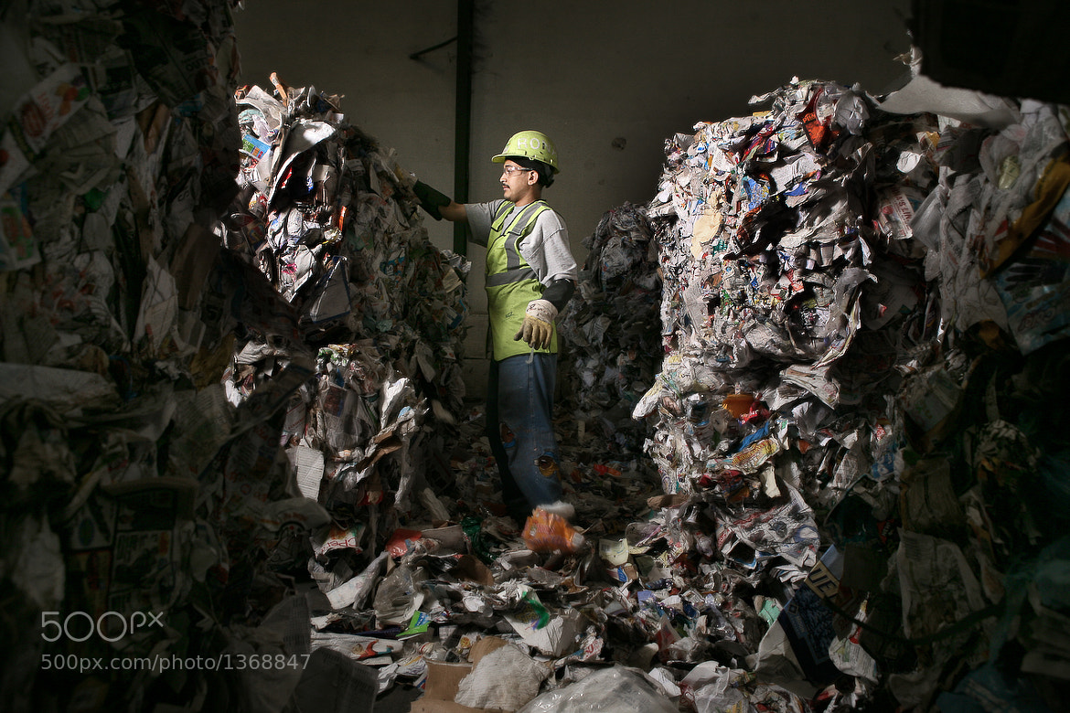 Photograph Waste Management by Mathieu Young on 500px