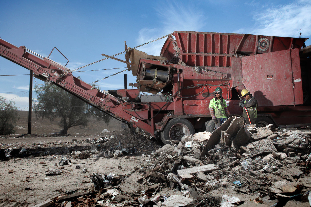 Photograph Simi Valley Landfill by Mathieu Young on 500px
