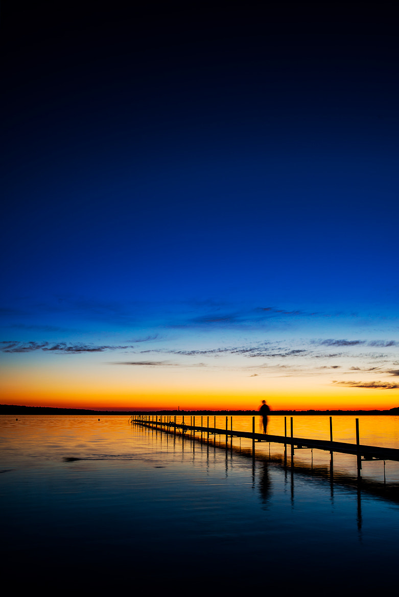 Photograph Furesø lake. Movement at twilight... by Mike Devlin on 500px