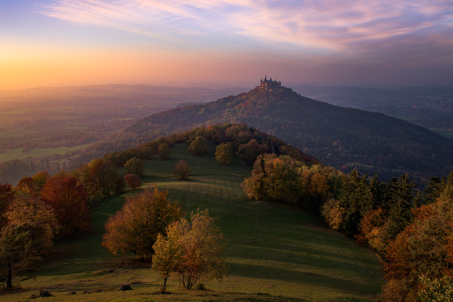 Hohenzollern Autumn by Marcelo Castro on 500px.com