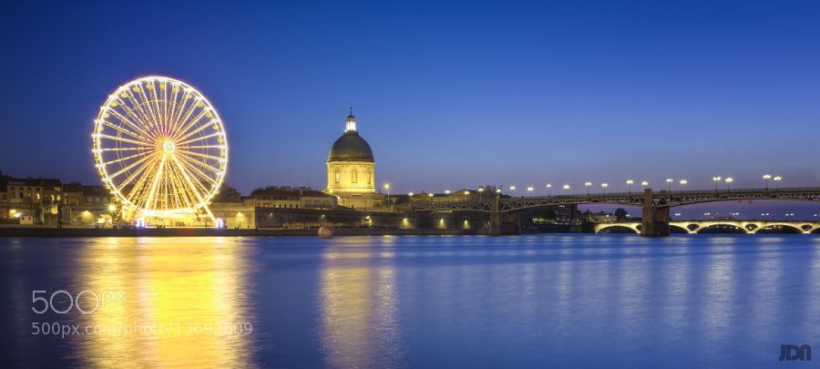 Photograph FRANCE - Toulouse, Quais de la Daurade by Jérôme Dhainaut on 500px