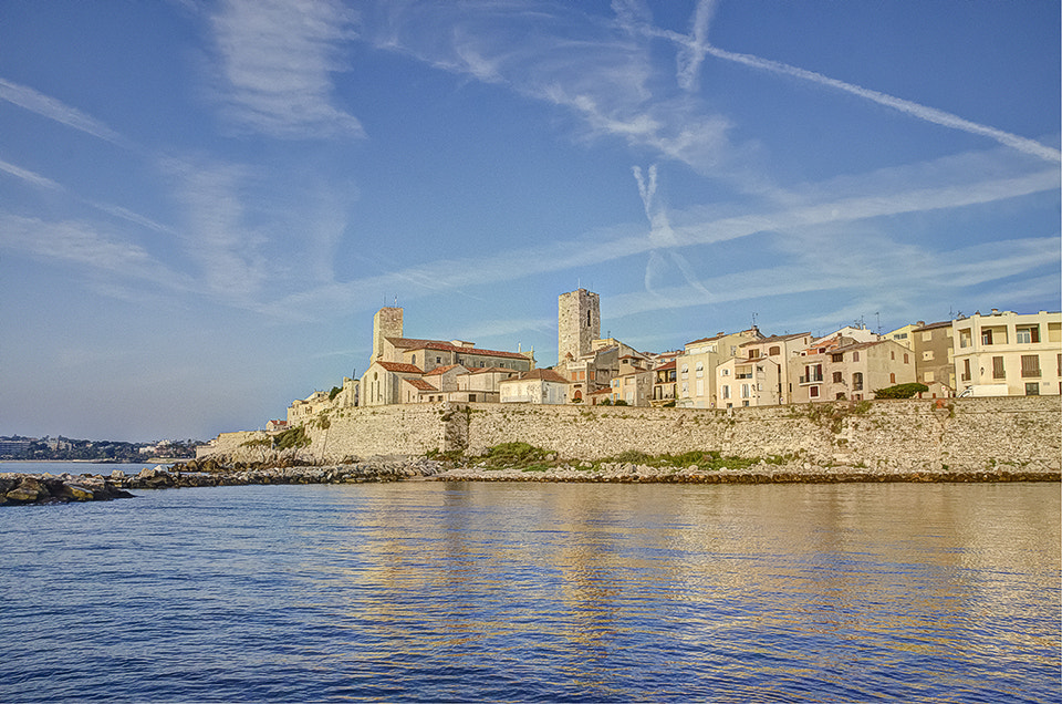 Photograph Antibes Les remparts by Christophe Geloni on 500px