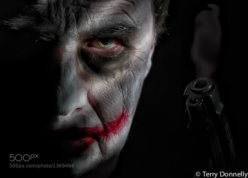 Photograph Why So Serious by Terry Donnelly on 500px