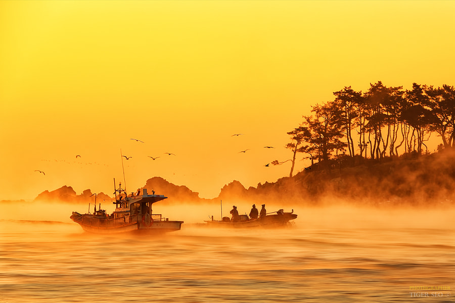 return & departure by Tiger Seo on 500px.com