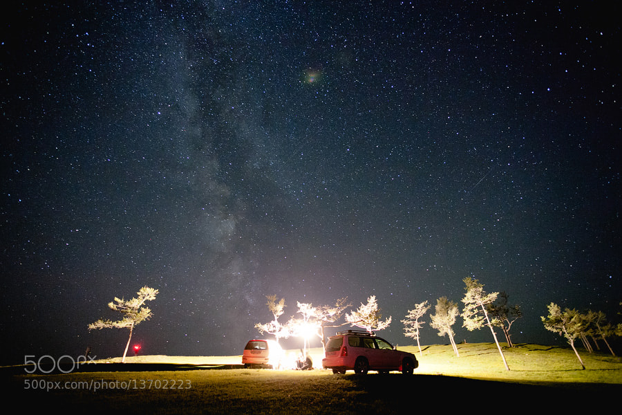 Photograph Star night by George Malets on 500px
