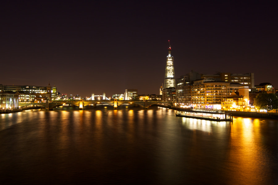 Photograph The Shard & The Thames by Stuart Miller on 500px