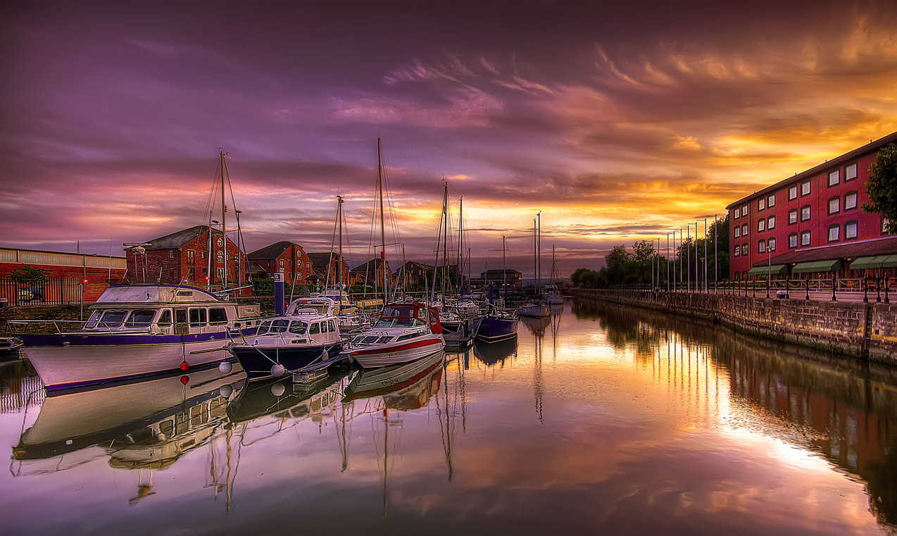 Photograph boatyard in hdr by Alonza Driver on 500px