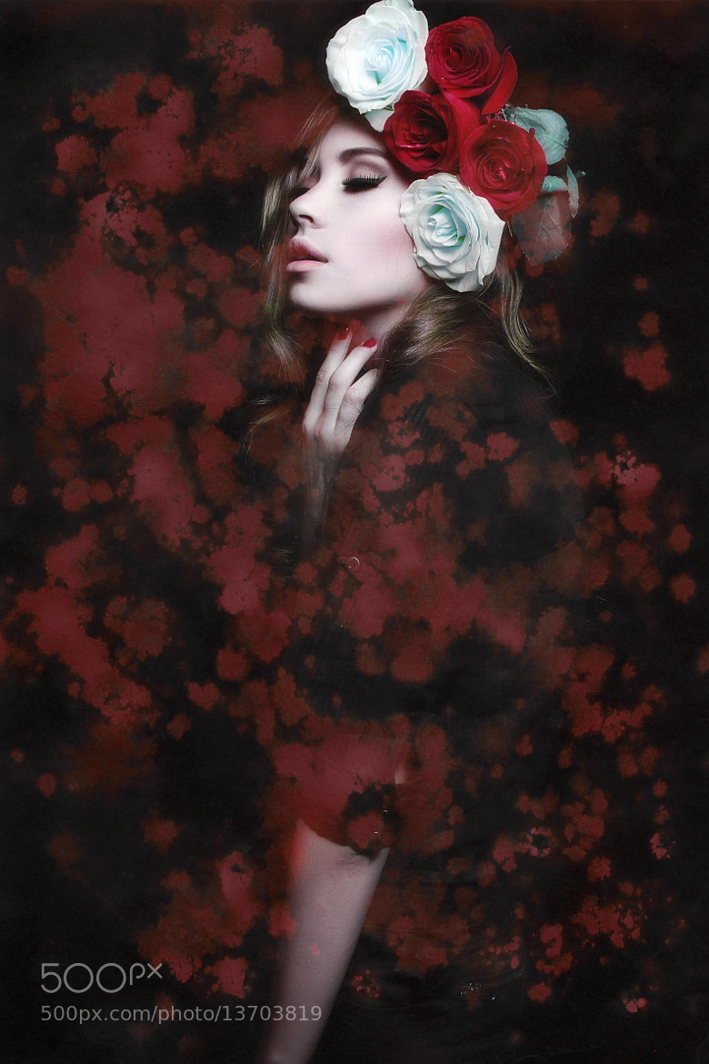 Photograph Blood Lana by Anastasia Galaktionova on 500px