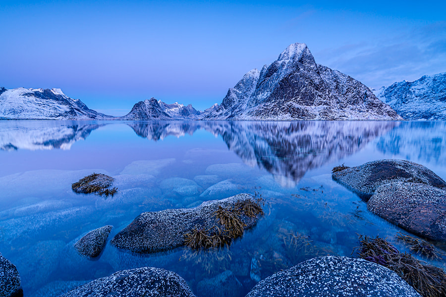 Blue reflections by Reto Savoca on 500px.com