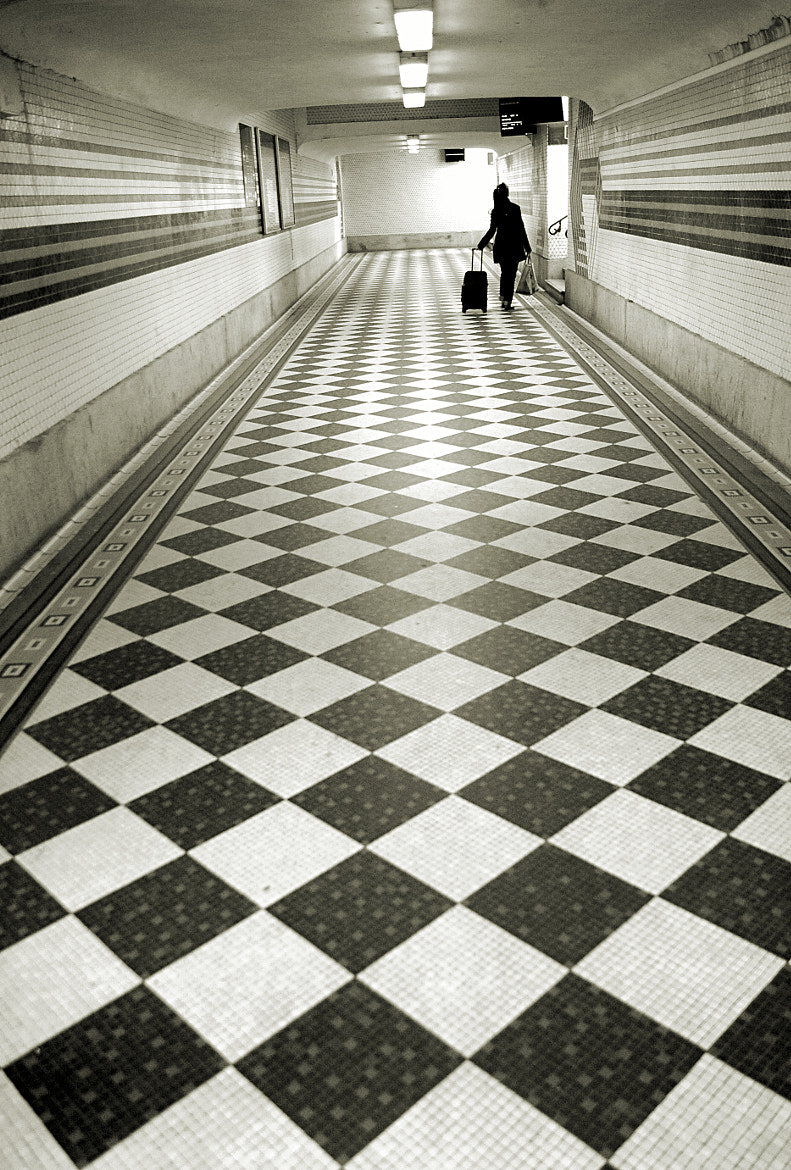 Photograph Corridor by Pascal-Ludovic Saissi on 500px