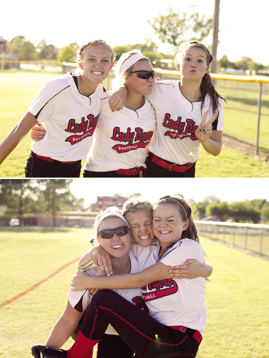 Photograph Softball Girls by Trent Brown on 500px