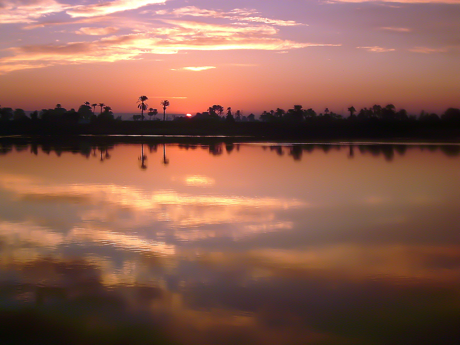 Photograph Sunset on the nile by Carlos Luque on 500px