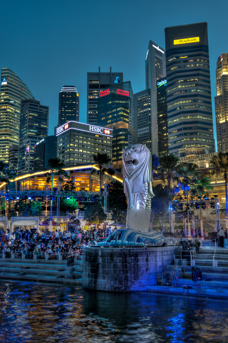 Photograph Singapore Merlion by Edward Tian on 500px