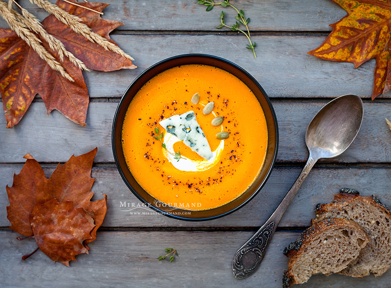 Pumpkin soup by Mirage Gourmand on 500px.com