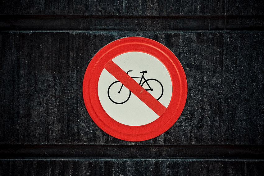 Photograph No bicycles! by Rafał Lindemann on 500px