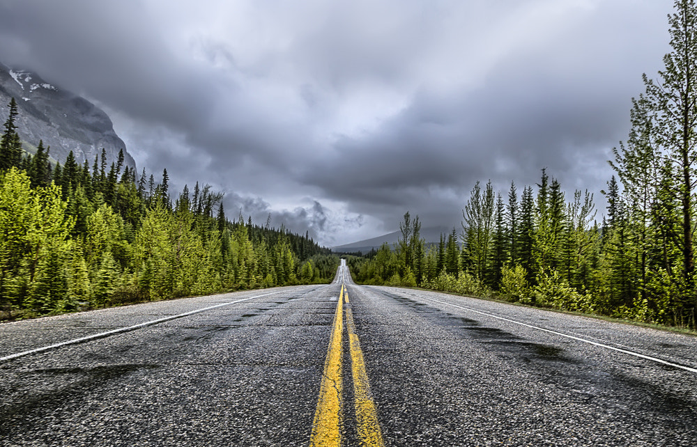 Photograph Cloudy Road view  by Philippe Brantschen on 500px