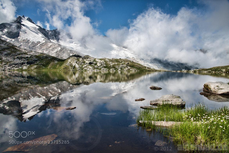 Photograph Gerlossee Reflections by alpenbild.de  - Ralf Blumenschein on 500px