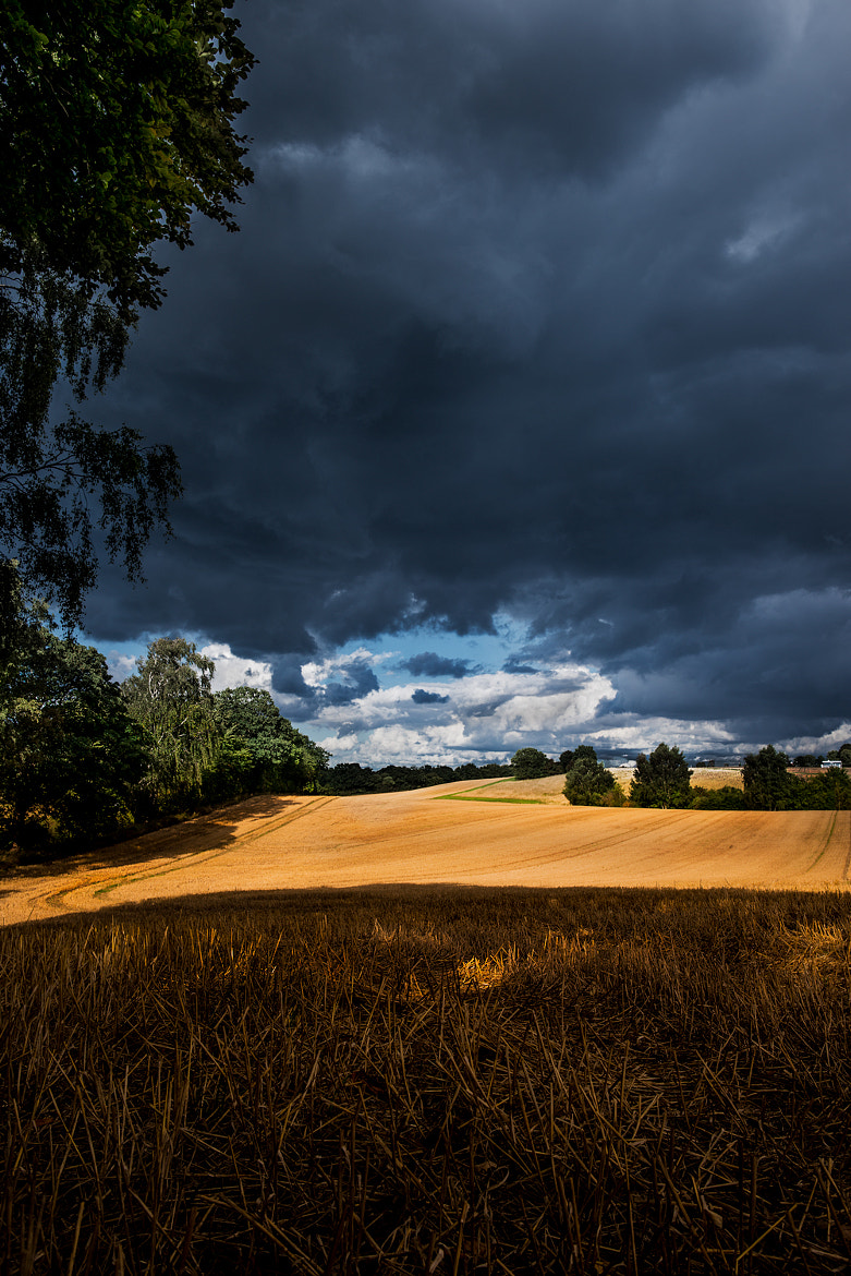 Photograph Autumn rain stormclouds by Mike Devlin on 500px
