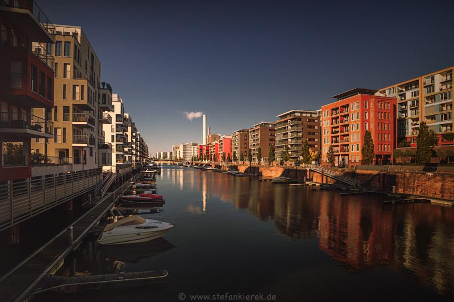 Hafen in Frankfurt