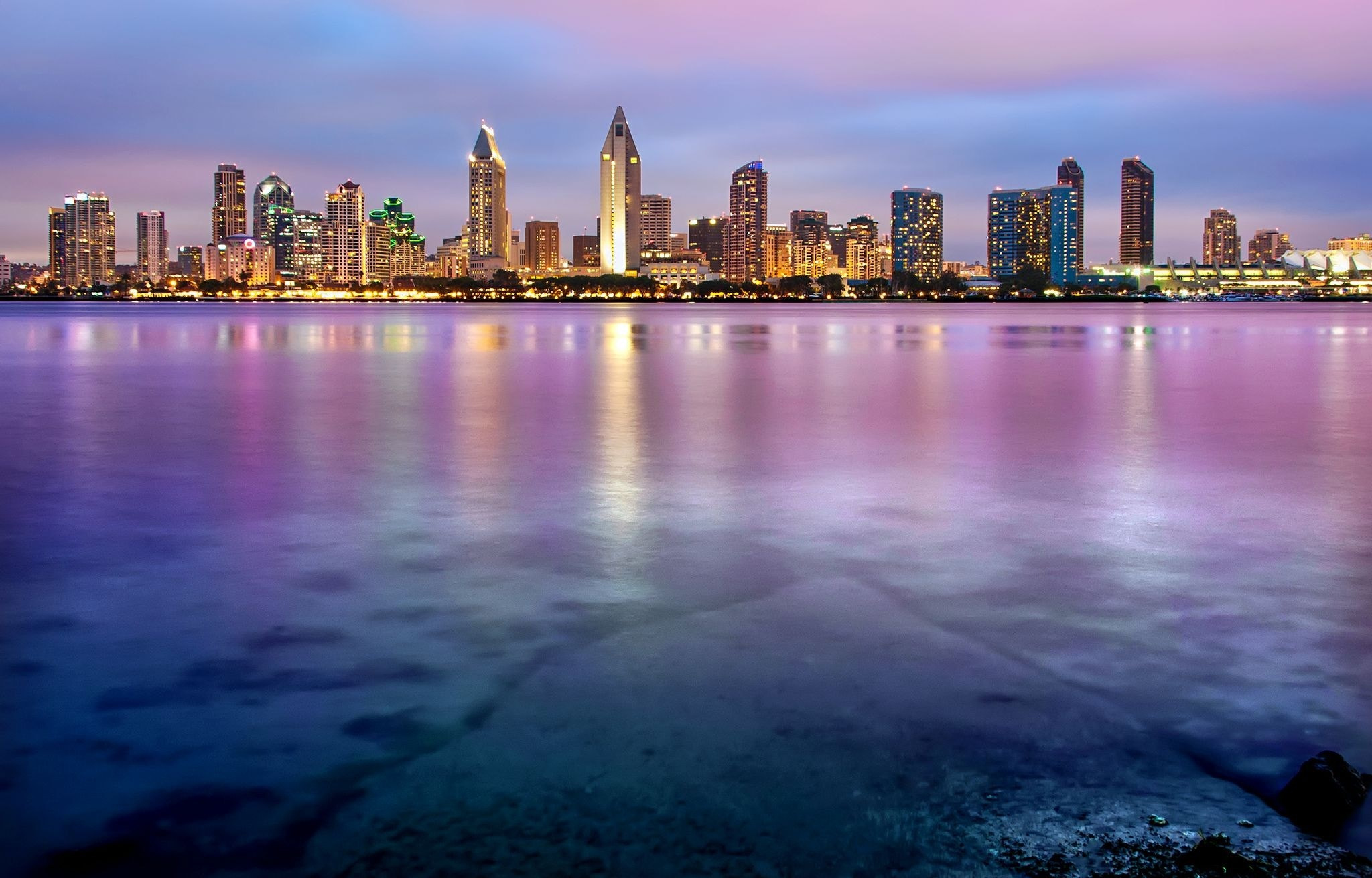 Photograph San Diego Skyline by Bill Dickinson on 500px
